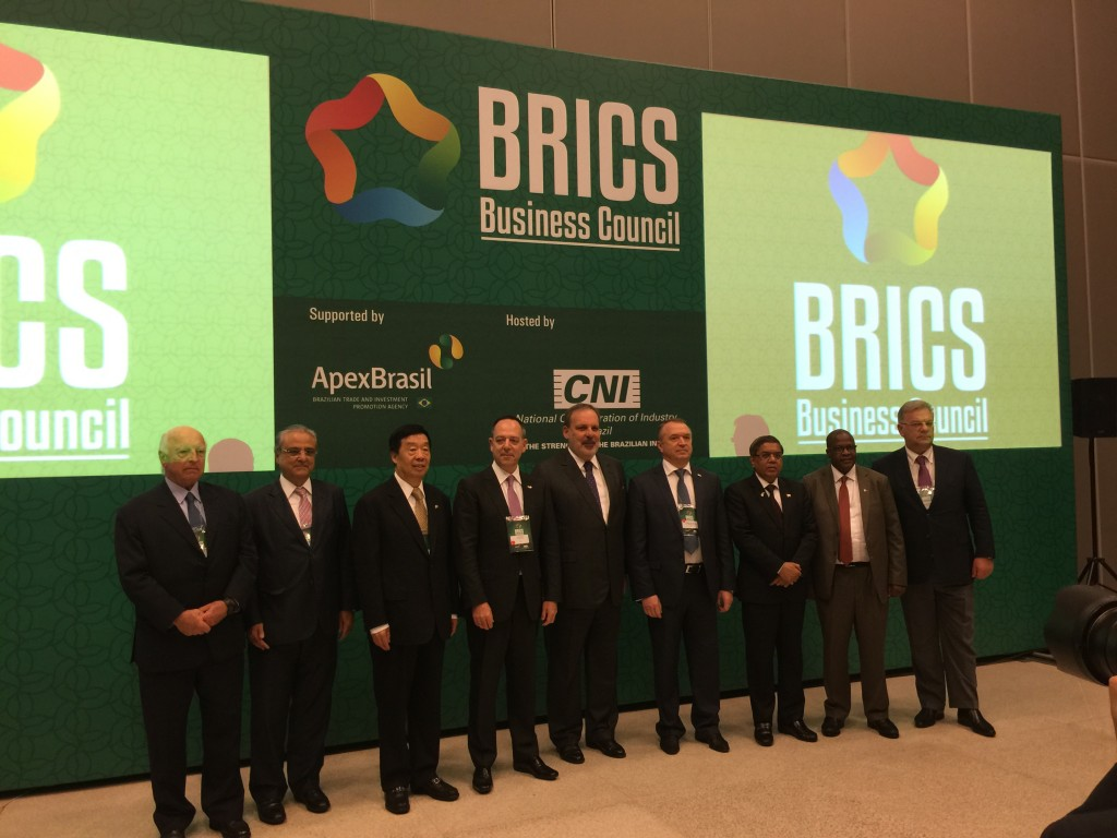 The 2014-2015 Midterm Meeting the BRICS Business Council