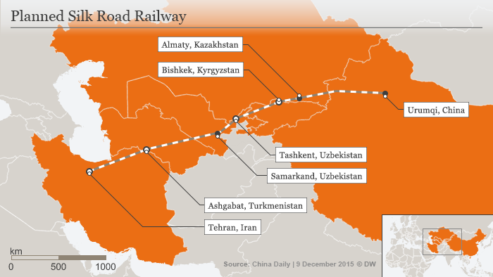 The proposed high-speed rail line would be complementary to the existing railway network in the region
