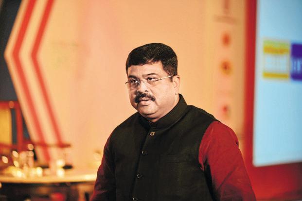 Oil minister Dharmendra Pradhan. Photo: Pradeep Gaur/Mint