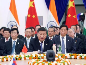 "Chinese President Xi Jinping on Sunday urged the BRICS (Brazil, Russia, India, China and South Africa) countries to cement confidence as a ""complicated, severe external environment"" poses challenges to the emerging-market bloc."